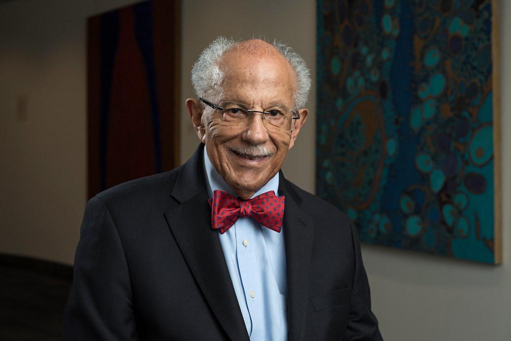 Image of Dr. Warren Washington a BIPOC environmental leaders